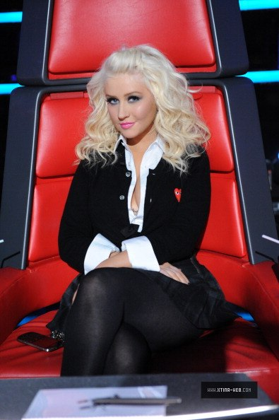 New stills from The Voice live shows 01