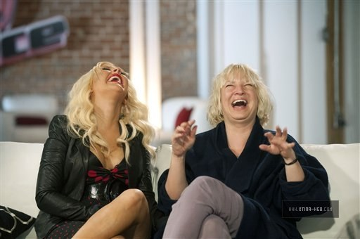 "On ""The Voice"" Set with Sia 03"